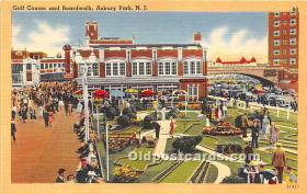 spo028066 - Old Vintage Miniature Golf Postcard Post Card