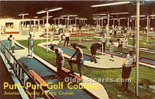 spo028071 - Old Vintage Miniature Golf Postcard Post Card