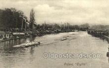 spo029041 - Oxford Eights Rowing Team Old Vintage Antique Postcard Post Cards