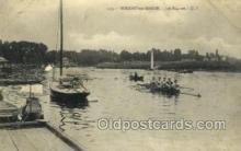 spo029043 - Nogent sur Marine Les Regates  Rowing Team Old Vintage Antique Postcard Post Cards