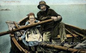 spo029045 - Rowing Boating Old Vintage Antique Postcard Post Cards
