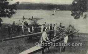 spo029050 - Rowing Team Old Vintage Antique Postcard Post Cards