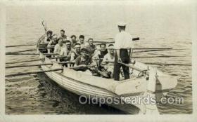 spo029053 - Rowing Team Old Vintage Antique Postcard Post Cards