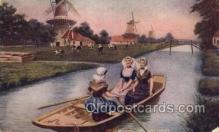 spo029055 - Holland  Rowing Team Old Vintage Antique Postcard Post Cards
