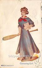 Canoeing Girl