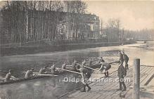spo029058 - Old Vintage Rowing Postcard Post Card
