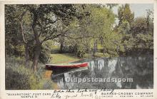 spo029078 - Old Vintage Rowing Postcard Post Card