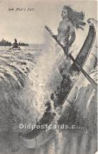 spo029085 - Old Vintage Rowing Postcard Post Card