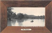 spo029088 - Old Vintage Rowing Postcard Post Card