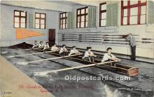 Coed in Rowing Tank, Syracuse University