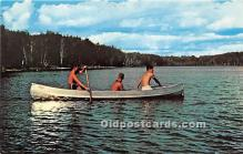 spo029099 - Old Vintage Rowing Postcard Post Card