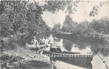 spo029105 - Old Vintage Rowing Postcard Post Card