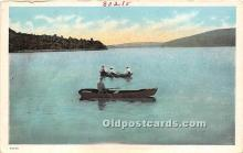 spo029111 - Old Vintage Rowing Postcard Post Card