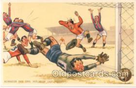 spo030012 - Soccer, Football, Postcard Postcards