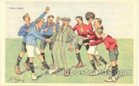 spo030017 - Soccer, Football, Postcard Postcards