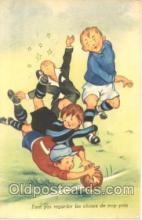 spo030025 - Soccer, Football, Postcard Postcards
