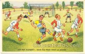 spo030028 - Soccer, Football, Postcard Postcards