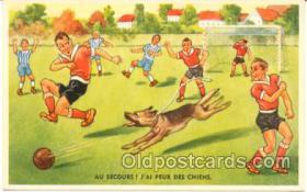 spo030031 - Soccer, Football, Postcard Postcards