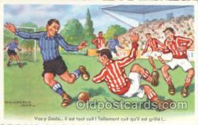 spo030033 - Artist Chaperon Jean, Soccer, Football, Postcard Postcards