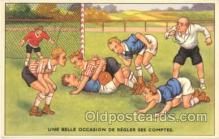 spo030038 - Soccer, Football, Postcard Postcards