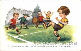 spo030049 - Soccer Postcards