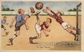 spo030059 - Soccer Postcards