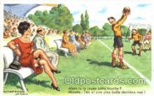 spo030110 - Chaperon Jean Soccer Postcard Post Card Old Vintage Antique