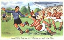 spo030111 - Chaperon Jean Soccer Postcard Post Card Old Vintage Antique