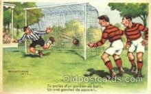 spo030119 - Chaperon Jean Soccer Postcard Post Card Old Vintage Antique