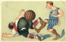 spo030128 - Soccer Postcard Post Card Old Vintage Antique