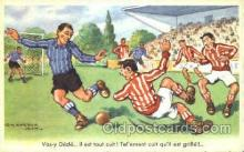 spo030130 - Chaperon Jean Soccer Postcard Post Card Old Vintage Antique