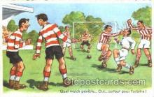 spo030131 - Chaperon Jean Soccer Postcard Post Card Old Vintage Antique