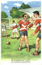 spo030132 - Chaperon Jean Soccer Postcard Post Card Old Vintage Antique