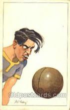 spo030133 - Soccer Postcard Post Card Old Vintage Antique