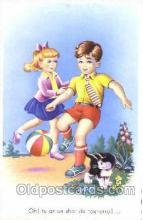 spo030134 - Soccer Postcard Post Card Old Vintage Antique