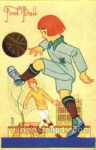 spo030136 - Advertising Chaussures Raoul Soccer Postcard Post Card Old Vintage Antique