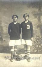 spo030138 - Soccer Postcard Post Card Old Vintage Antique