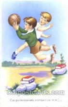 spo030140 - Soccer Postcard Post Card Old Vintage Antique