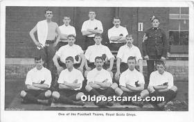 spo030144 - Old Vintage Soccer Postcard Post Card