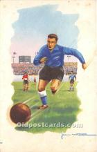 spo030149 - Old Vintage Soccer Postcard Post Card