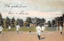 spo030152 - Old Vintage Soccer Postcard Post Card