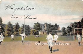 spo030152 - Old Vintage Soccer Postcard Post Card