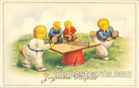 spo031001 - Table Tennis, Ping Pong, Postcard Postcards