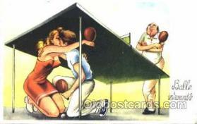 spo031005 - Table Tennis, Ping Pong, postcard postcards