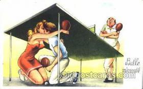 spo031008 - Table Tennis, Ping Pong, postcard postcards
