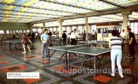 spo031013 - Butlin's Table Tennis, Ping Pong, postcard postcards