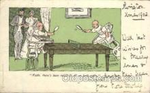 spo031021 - Ping Pong Table Tennis Postcard Postcards