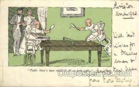 spo031021 - Ping Pong Table Tennis Postcard Postcards