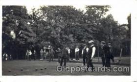 spo032054 - Lawn Bowling, Postcard Postcards