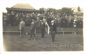 spo032057 - Lawn Bowling, Postcard Postcards